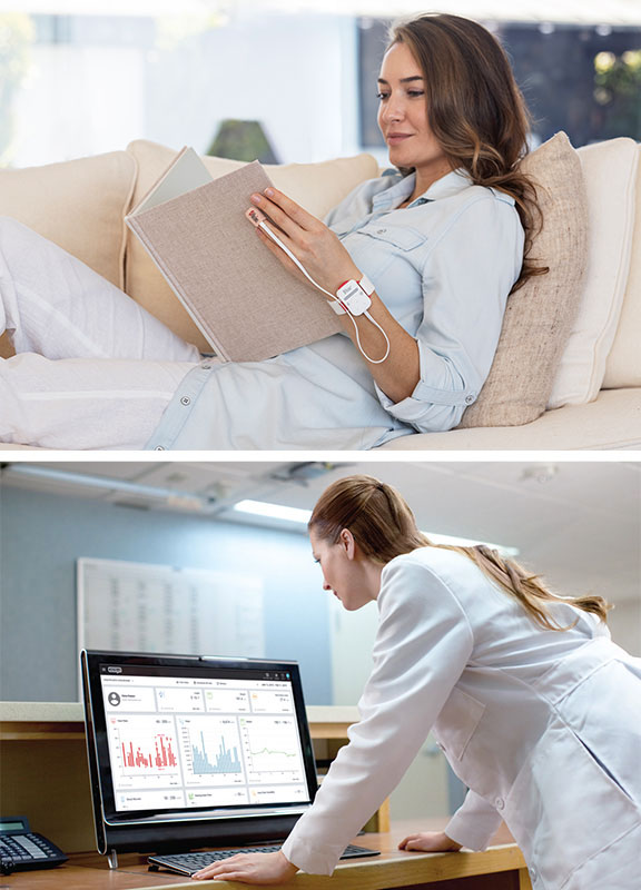 Masimo - Monitoring at home with Masimo SafetyNet and Clinician monitors from nurse station